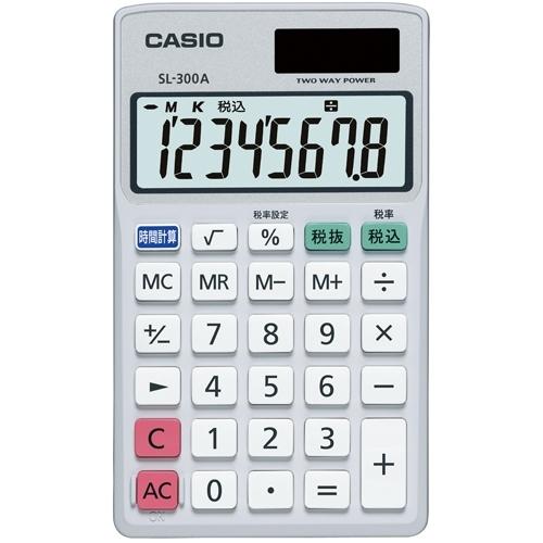 手帳サイズ電卓 SL-300A-N_画像01