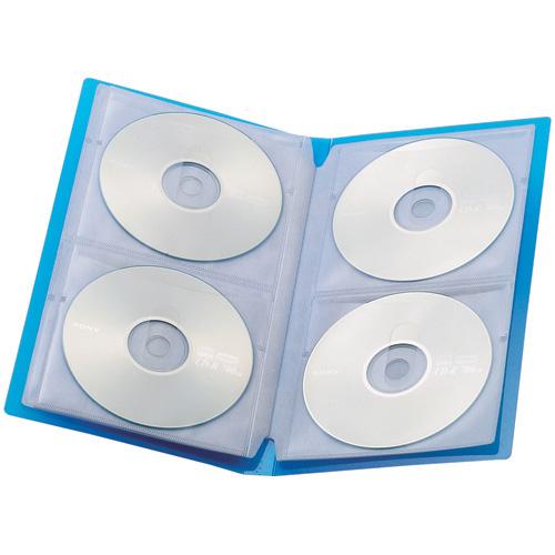 CDファイル24枚収納青10冊 A410J-B-10_画像02