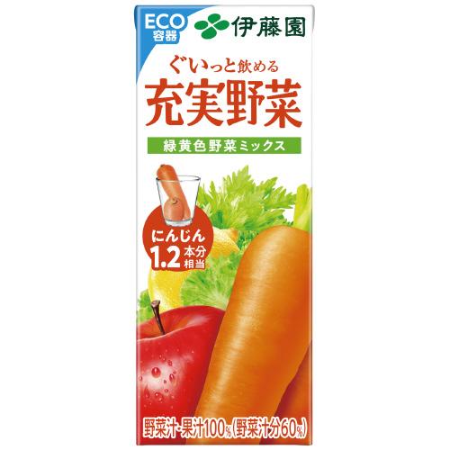 ※無添加充実野菜 紙200ml/24本_画像01