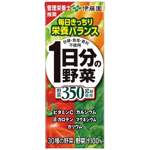 ※紙パック1日分の野菜200ml/24本_画像01