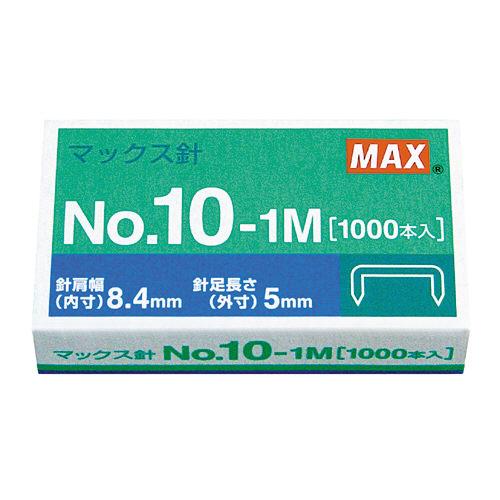 ホッチキス針 NO.10-1M 1000本 MS91187_画像01