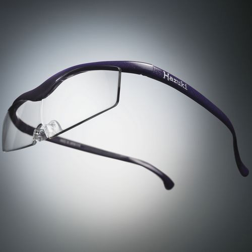 ハズキコンパクト1.32倍クリア紫