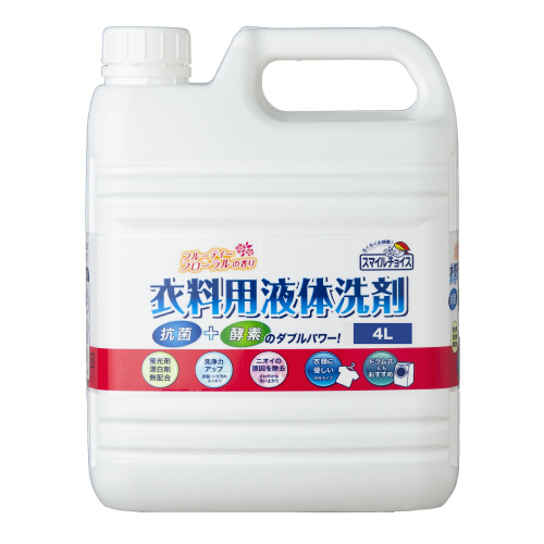 スマイルチョイス衣料用液体洗剤大容量4L_画像01