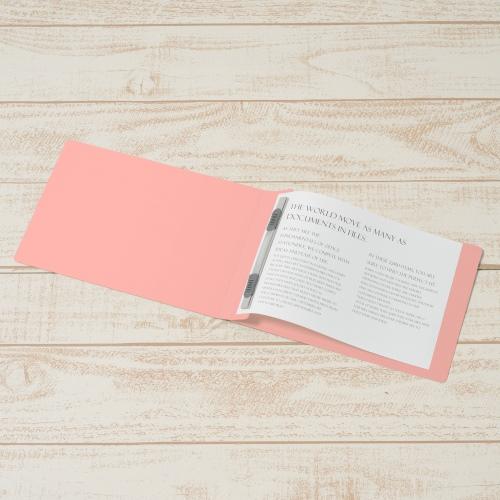フラットファイル 042N A5E ピンク 10冊_画像02