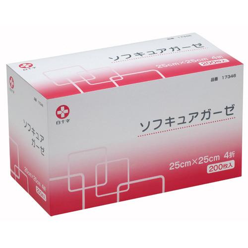 ソフキュアガーゼ 25x25 4折 200枚入_画像01