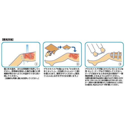 プラスモイスト P1(粘着面なし) 3枚入_画像02