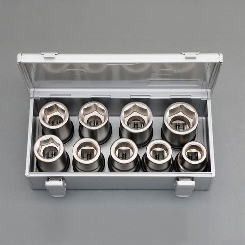 1DR/9個組ホイルナット用impact socket set_画像01